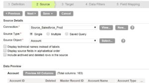 Informatica Cloud: Incremental Load With Data